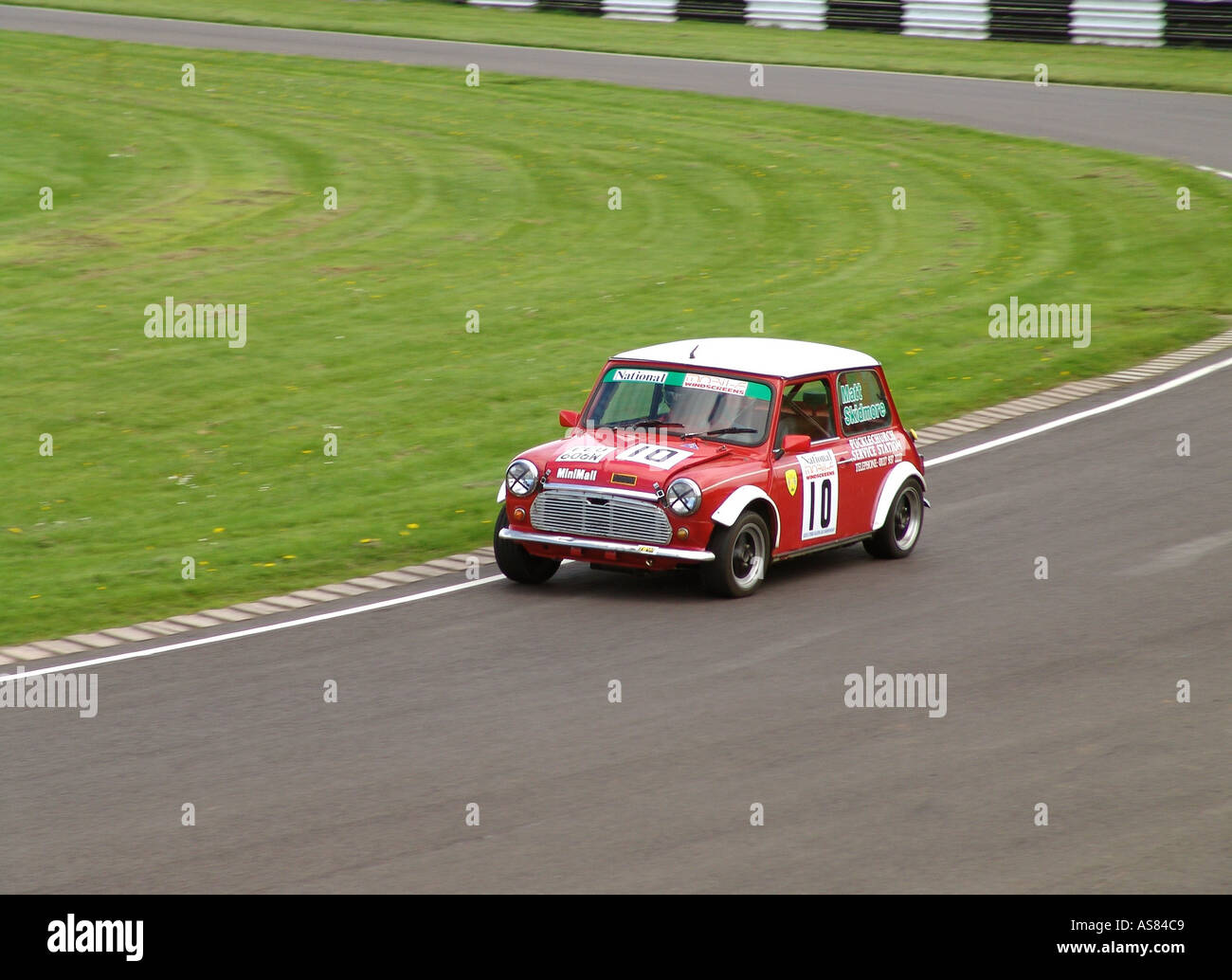 Motor racing car England GB UK 2004 - Stock Image