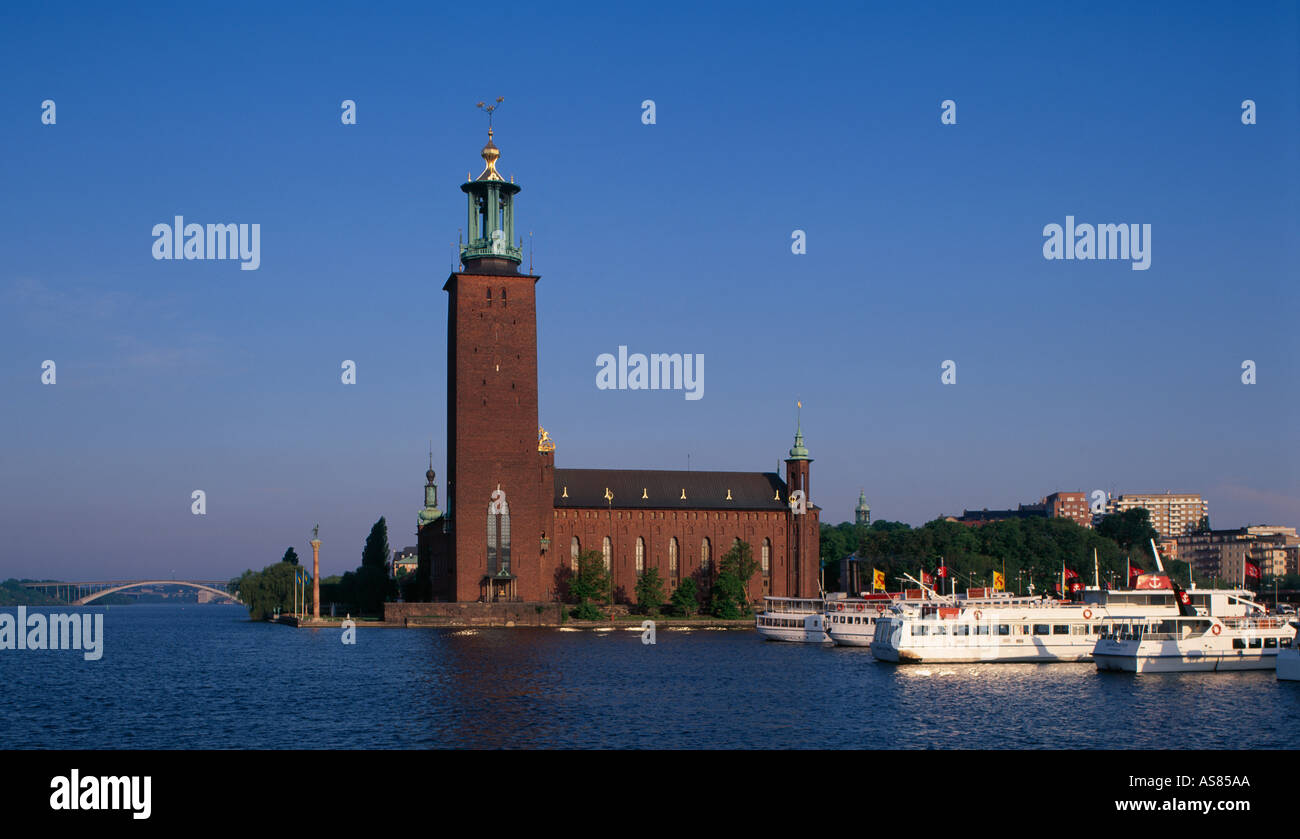 City Hall Stockholm Sweden - Stock Image