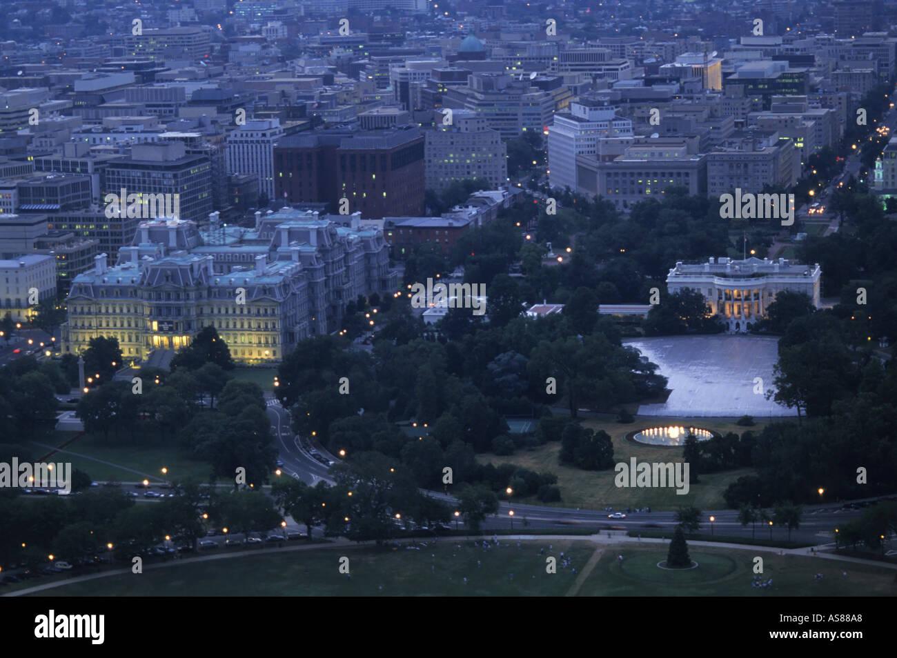 White House Aerial View Dc Stock Photos White House Aerial View Dc