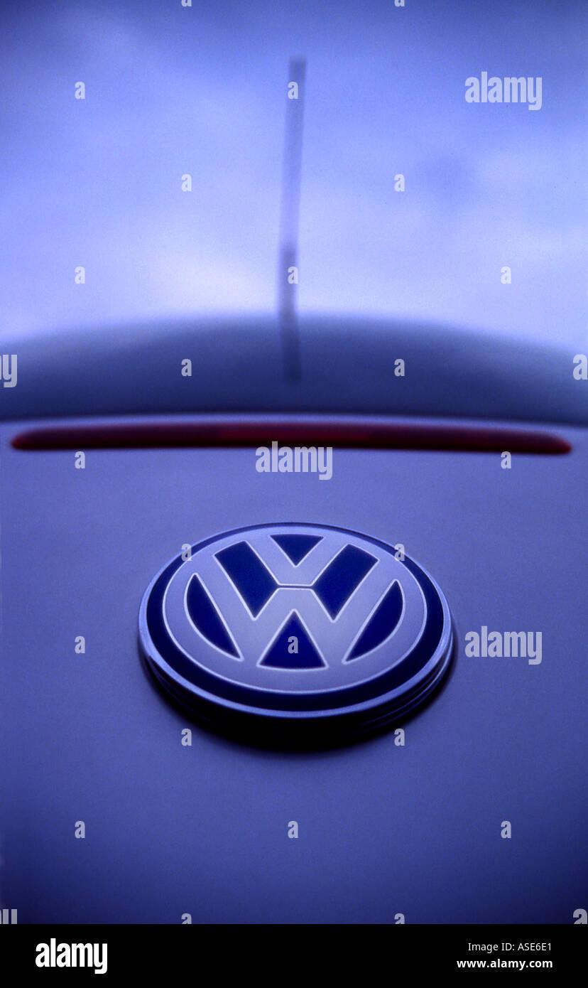 VW badge - Stock Image