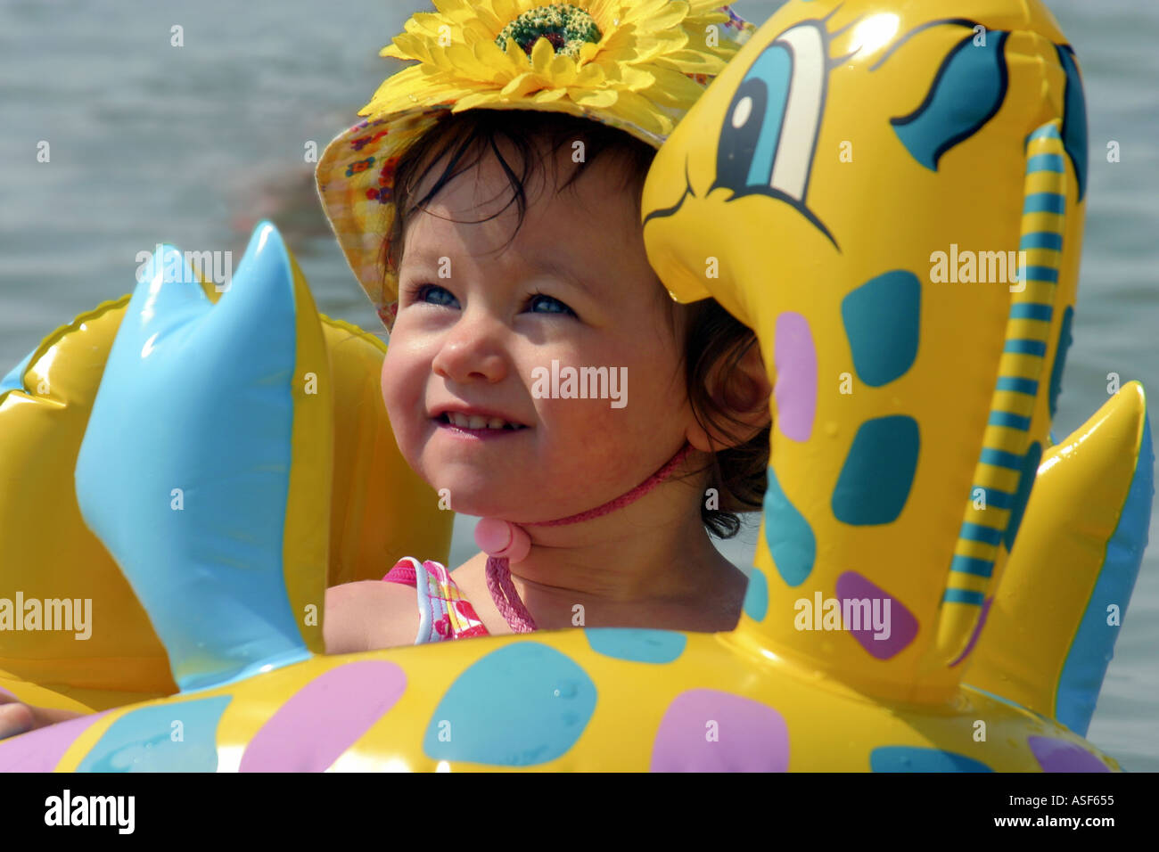 Water Baby - Stock Image