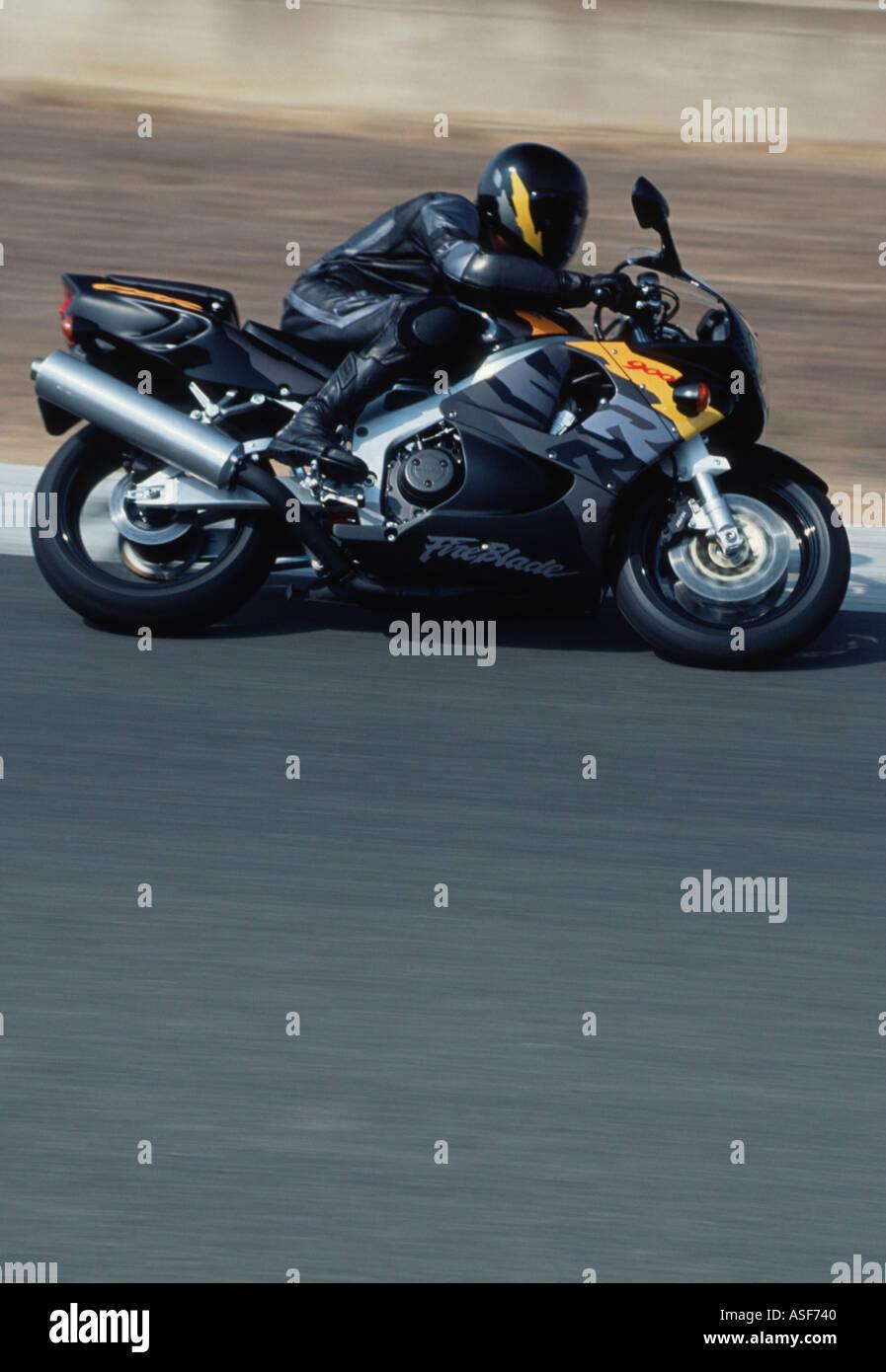 Honda 900 motor bike - Stock Image