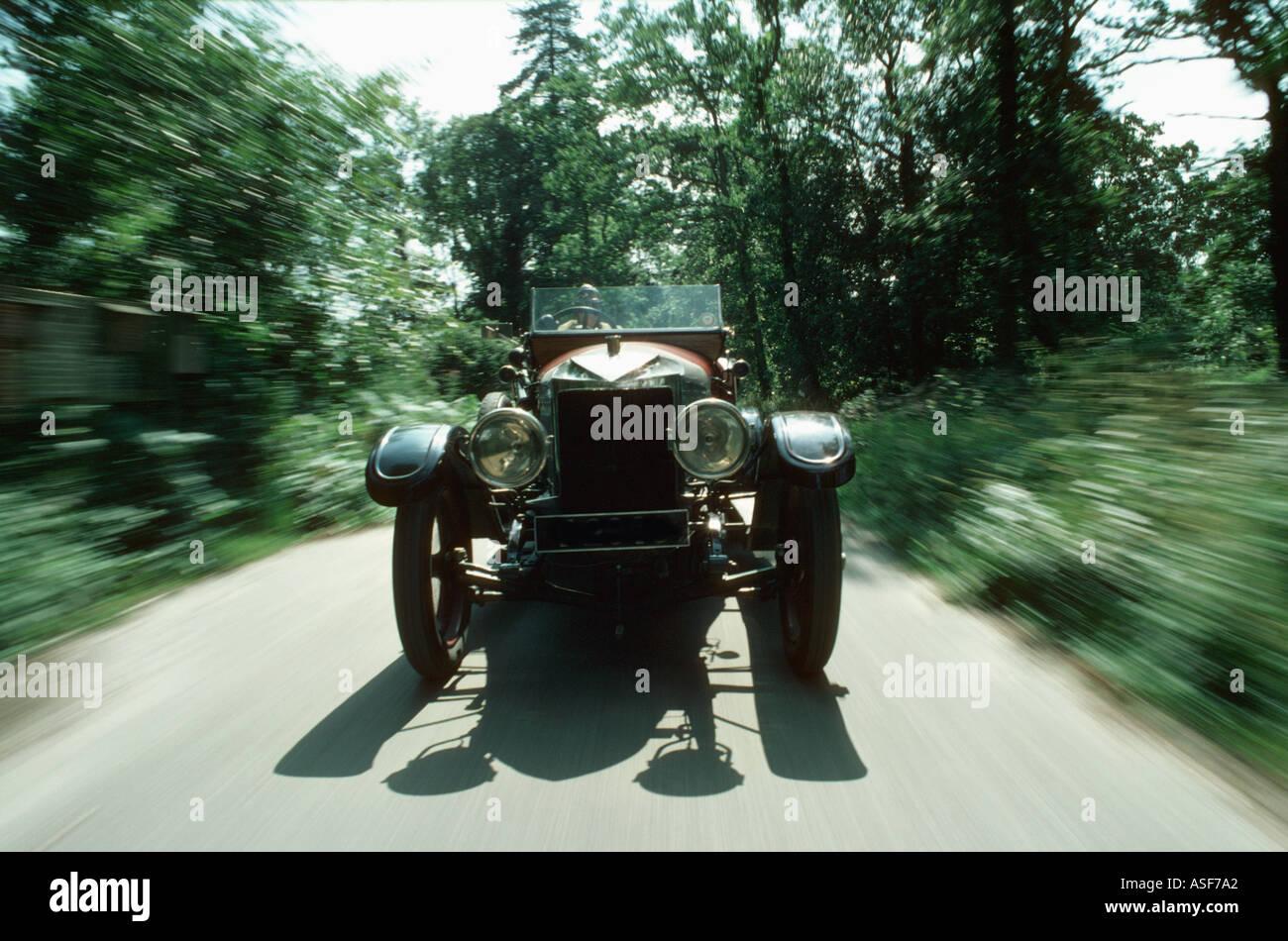 Vauxhall Prince Henry Vintage Car - Stock Image