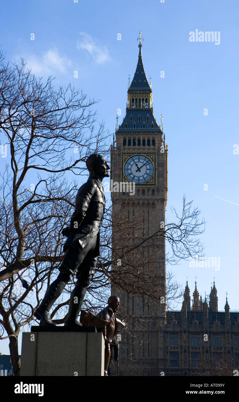 ian christian smuts westminster square - Stock Image