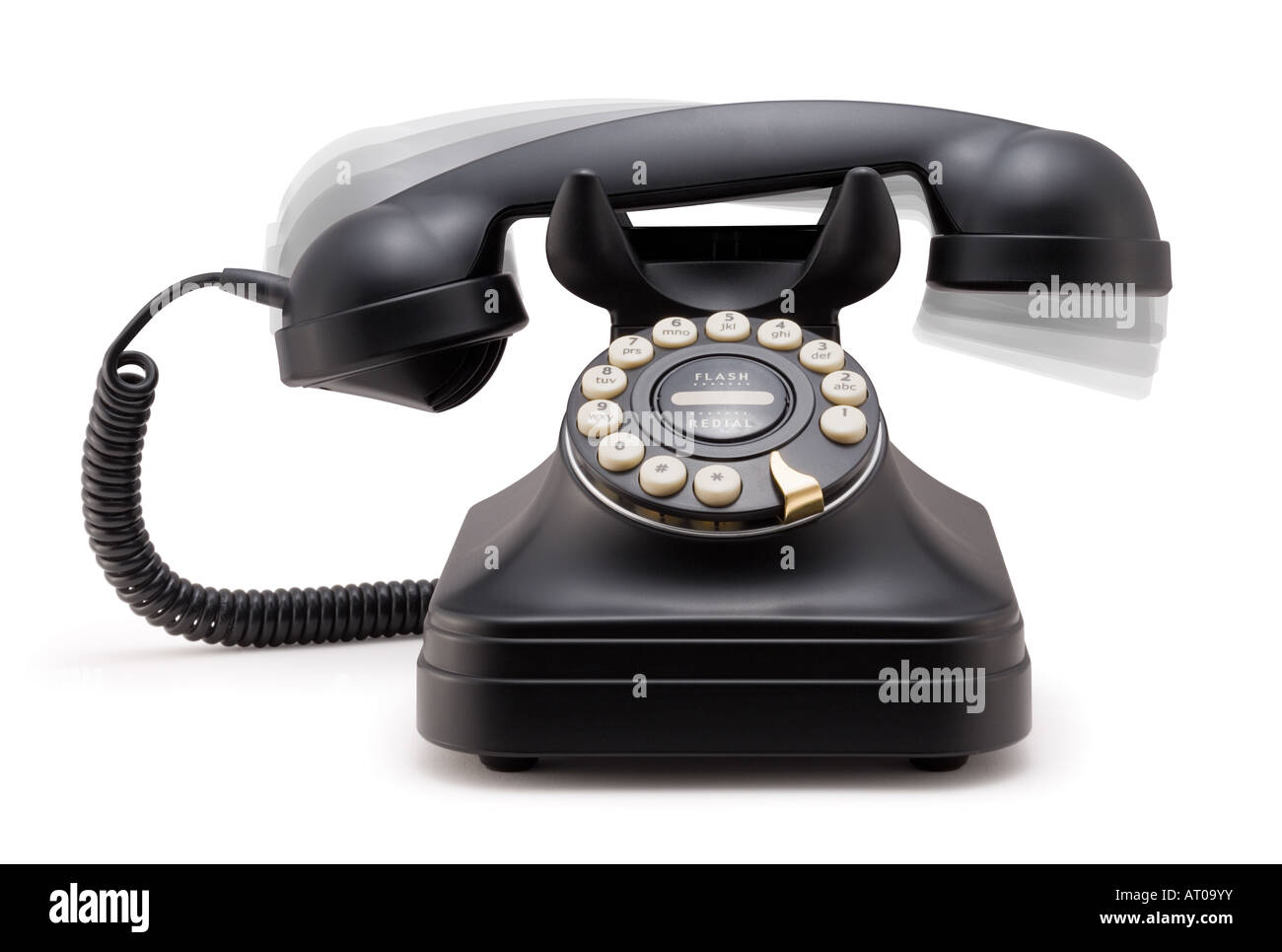 Phone Ringing off the Hook - Stock Image