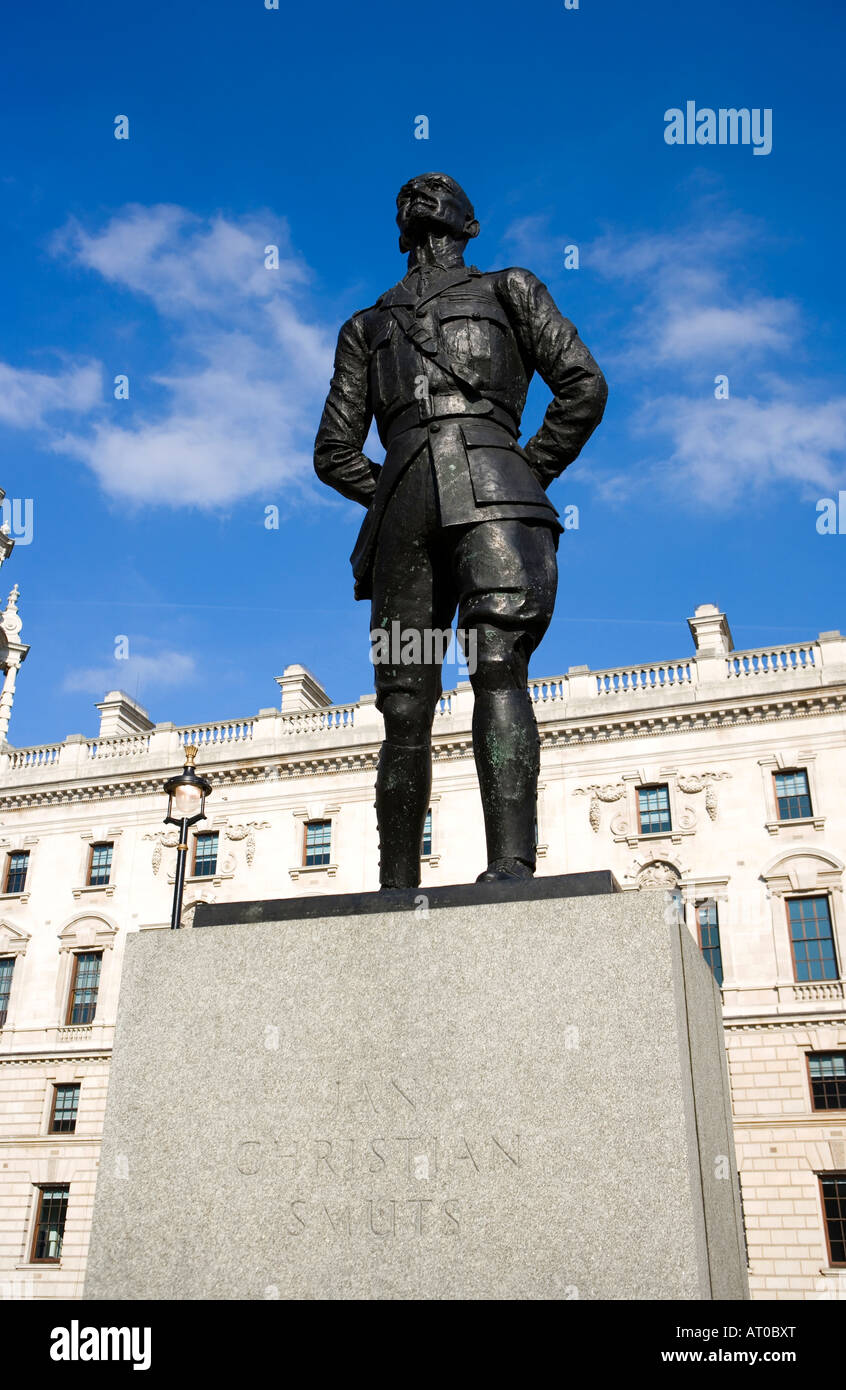 ian christian smuts westminster sqaure - Stock Image