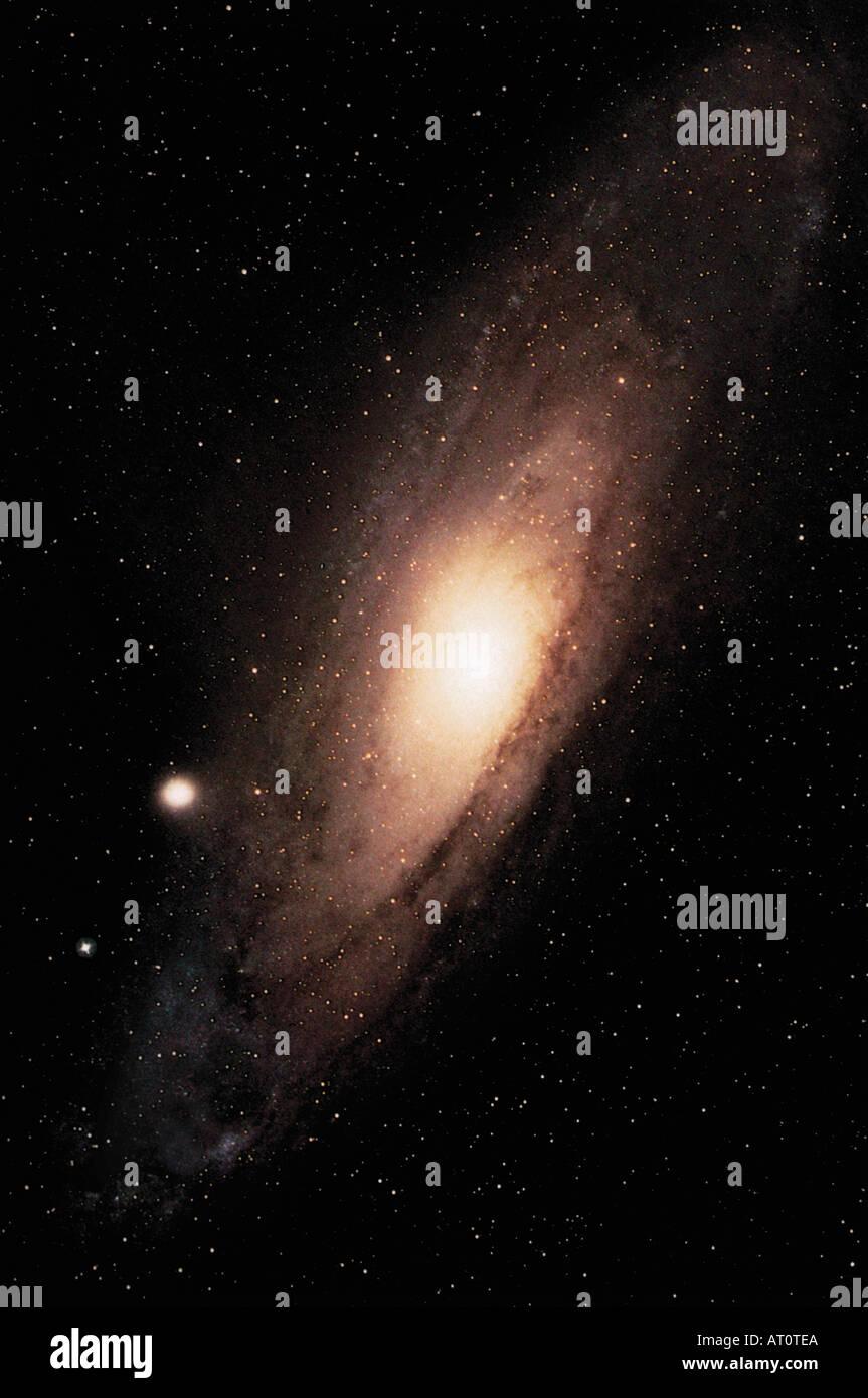 Andromeda Spiral Galaxy M31 - Stock Image
