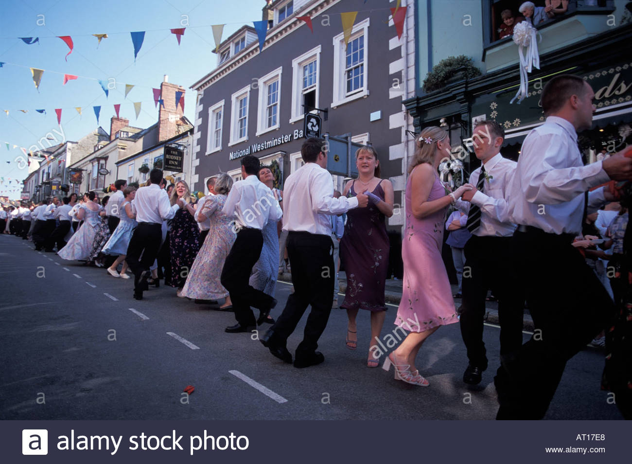 Floral Dance Helston Stock Photos & Floral Dance Helston Stock ...