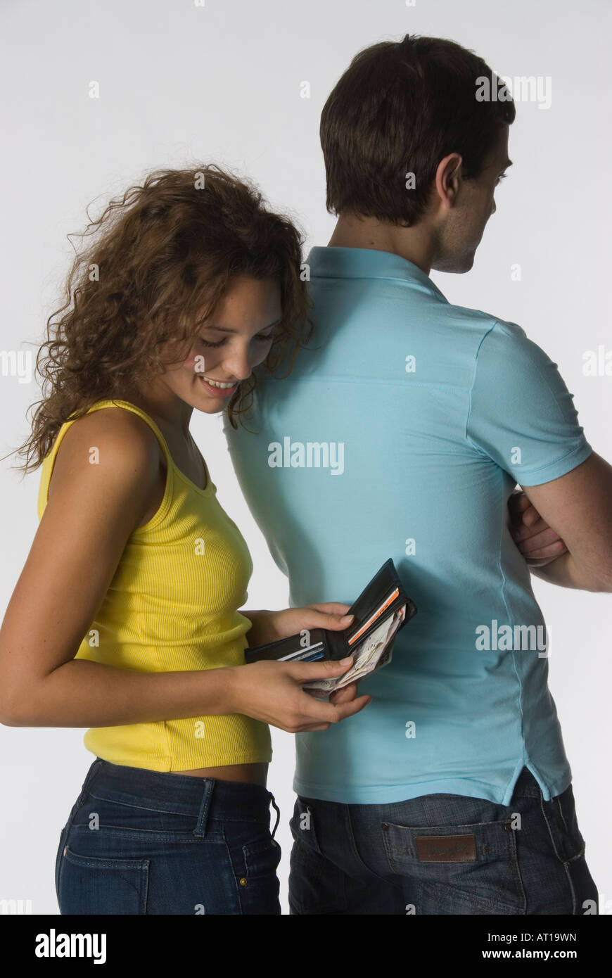 Couple Andrew Jess   Model released   Shoot No 3595 - Stock Image