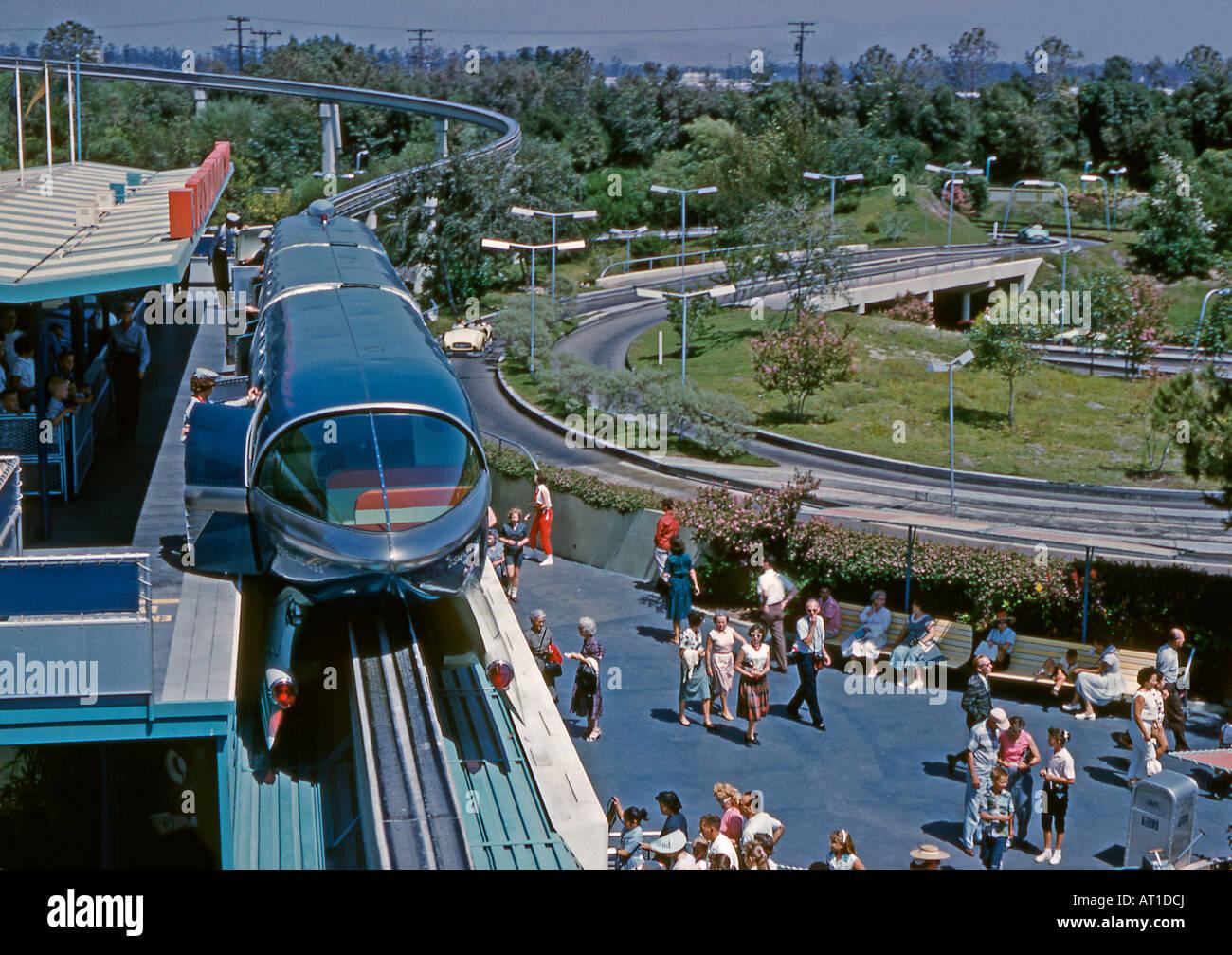 How to Ride the Disneyland (California) Monorail photo