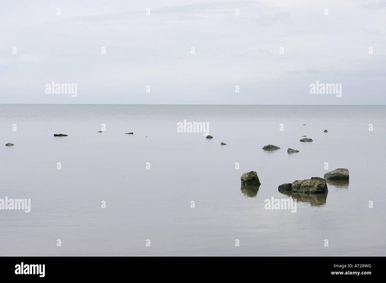 Seascape, Mauritius - Stock Image