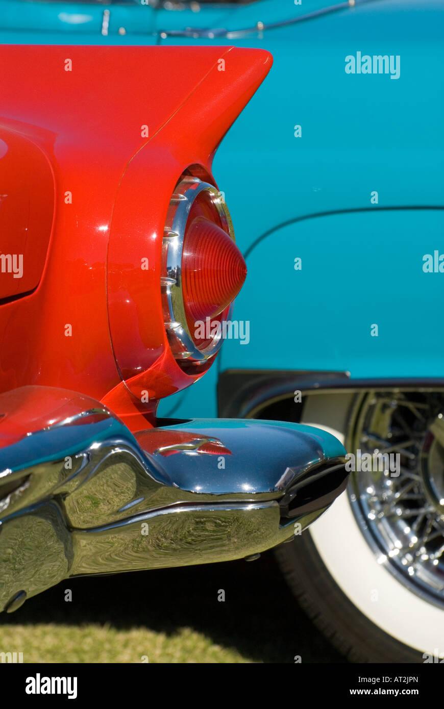 Custom American Antique Hot Rod Muscle Car Classic Car Show Stock - Palm springs car show