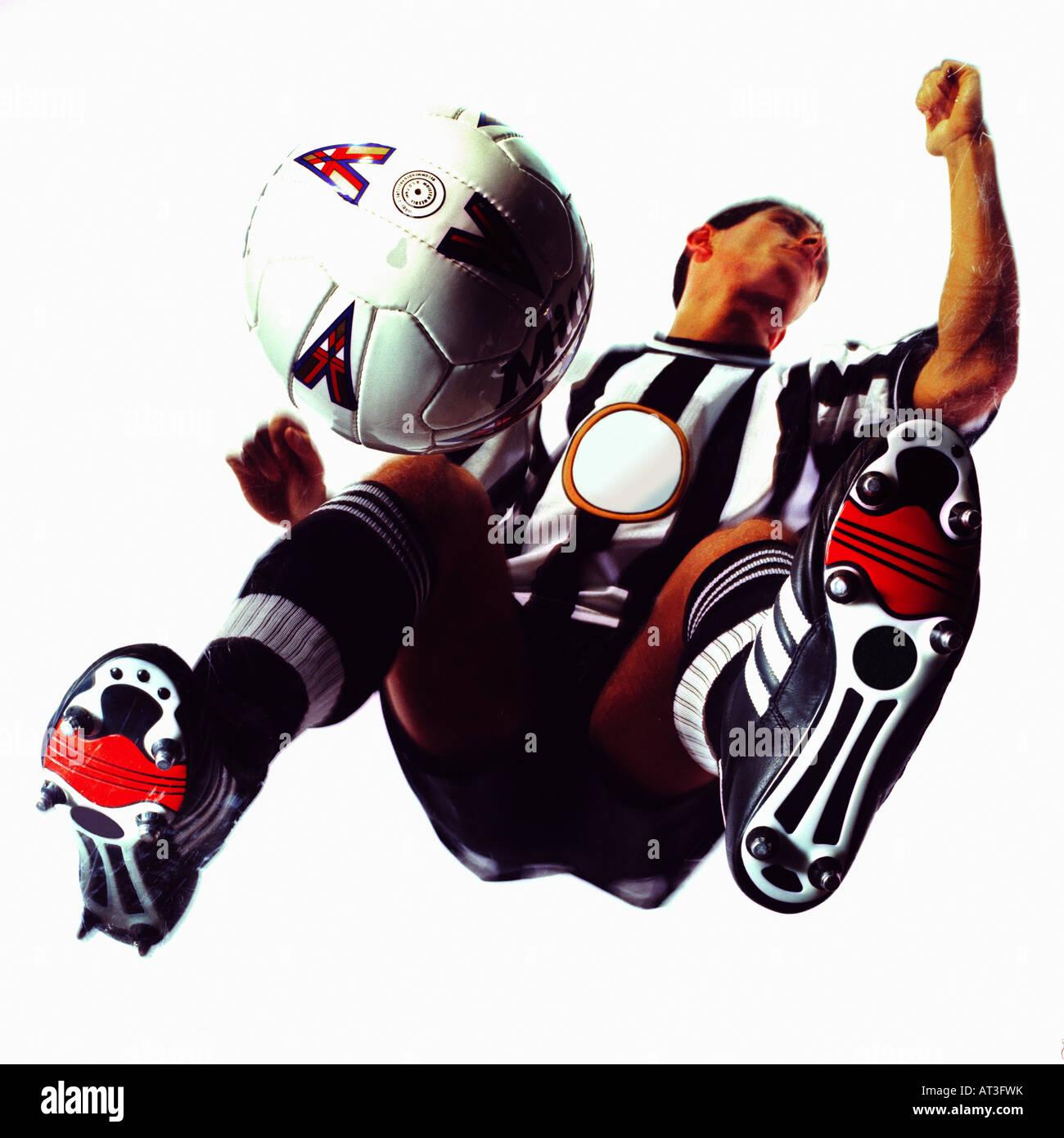 A footballer - Stock Image