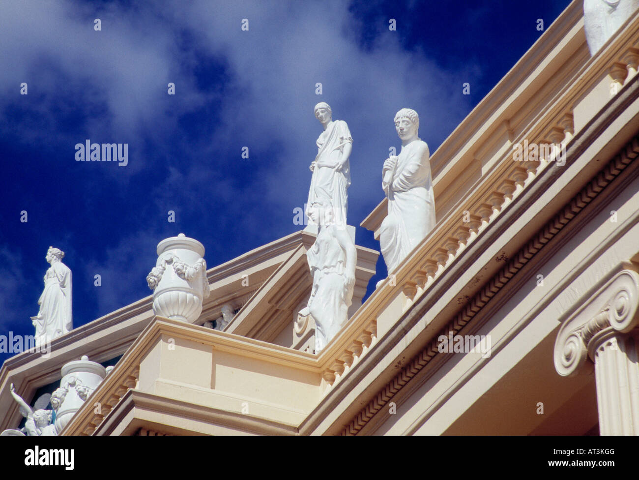 Cumberland Terrace in Regents Park, London Stock Photo