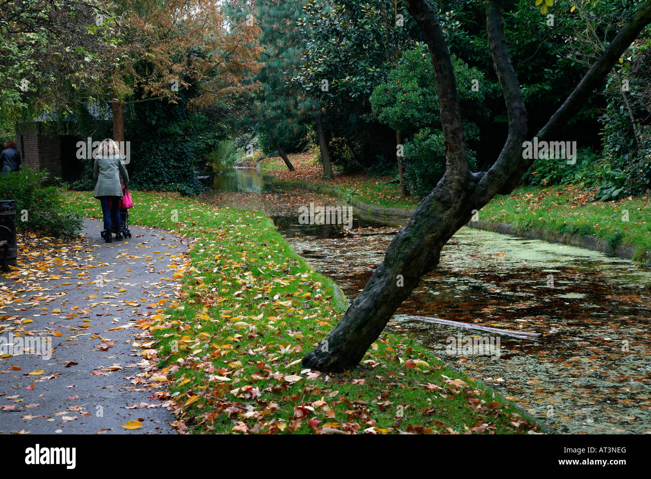 New River in Canonbury, London - Stock Image