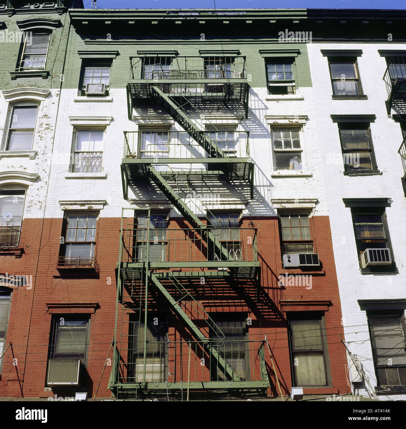 Francois Illas New Tradition: Geography / Travel, USA, New York, Little Italy, House