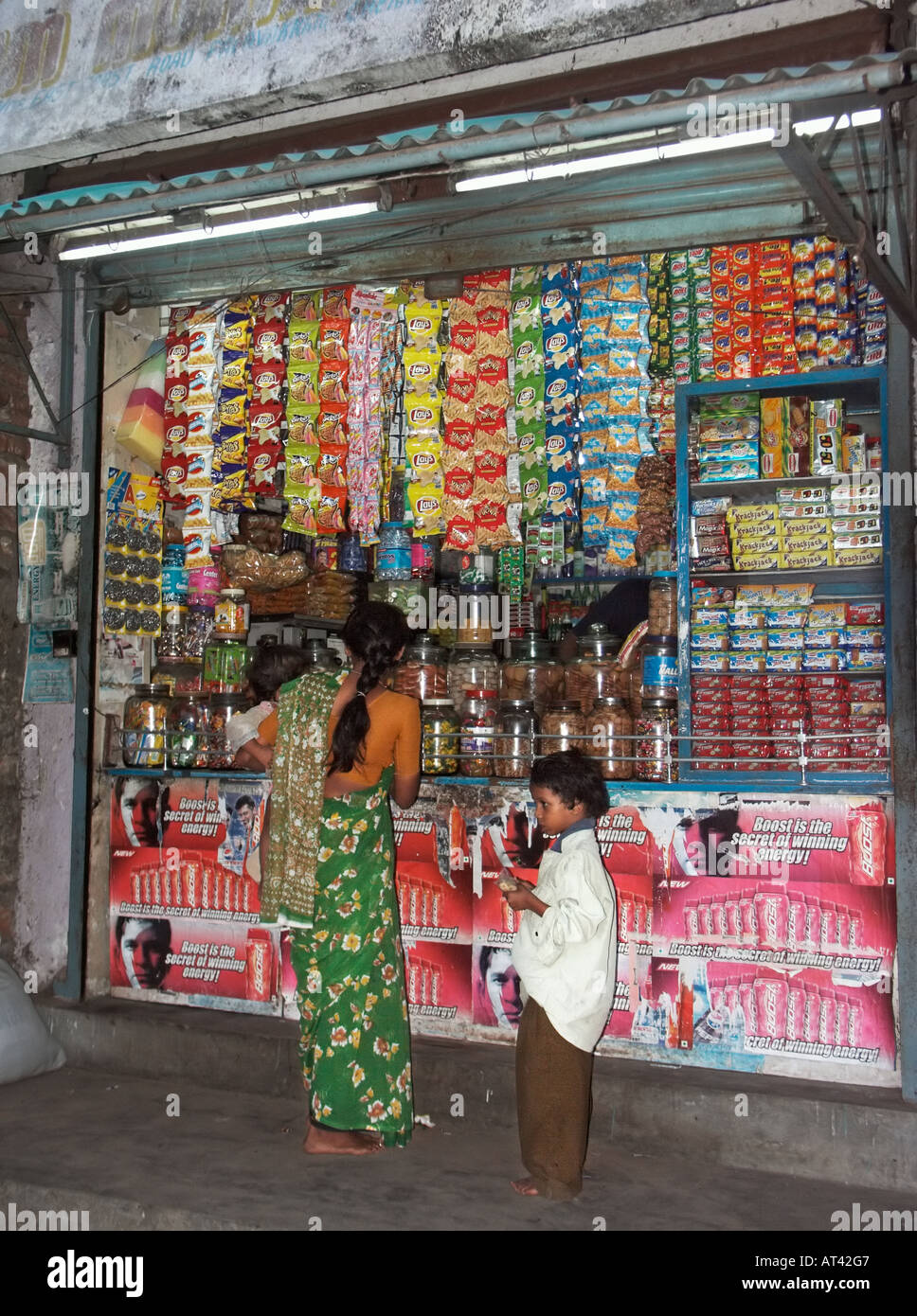 Indian General Store Stock Photos Indian General Store Stock