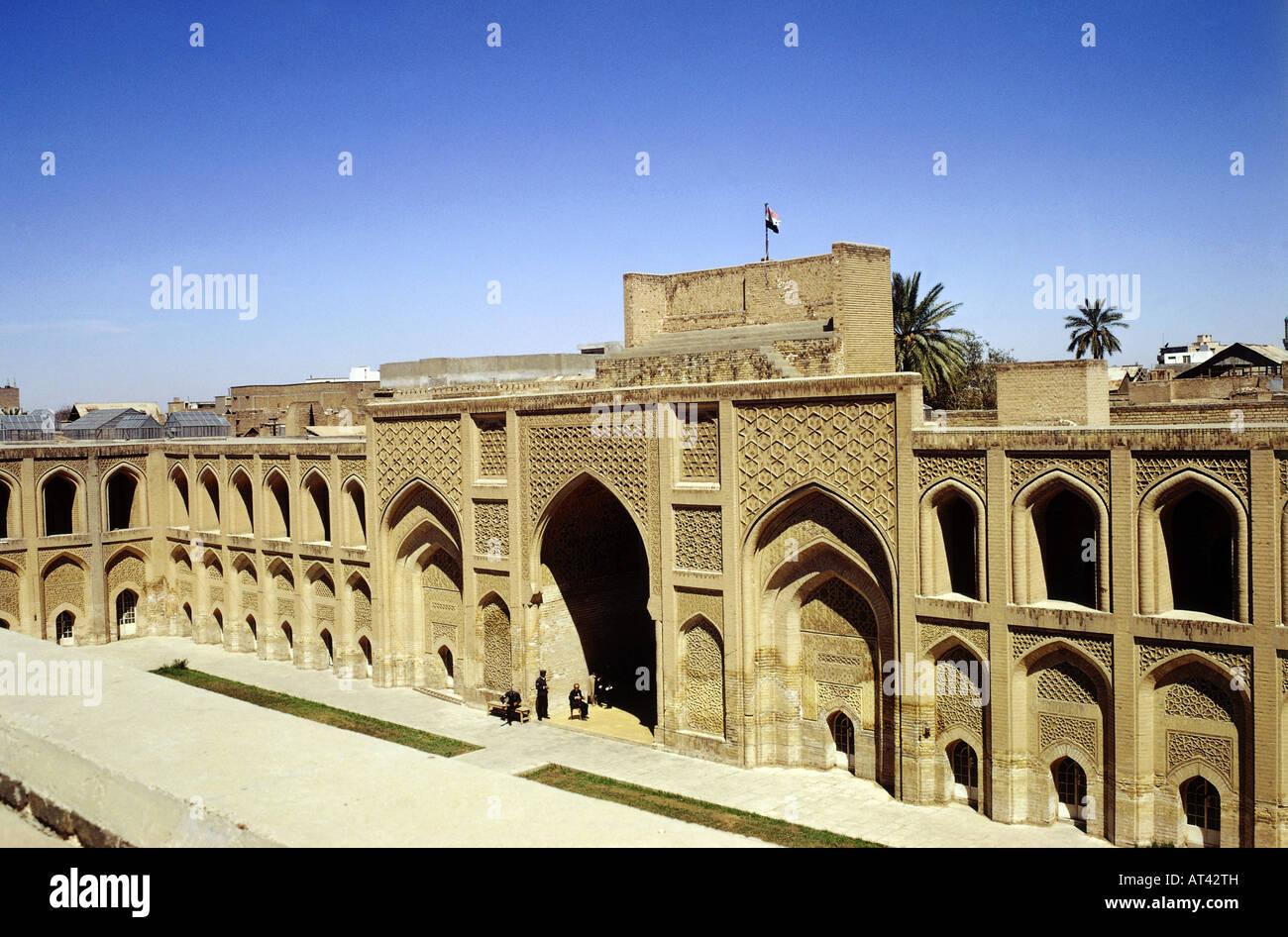 geography / travel, Iraq, Baghdad, buildings, architecture,  Mustansiriya university (Al-Madrasa-Al-Mustansiriya), Stock Photo