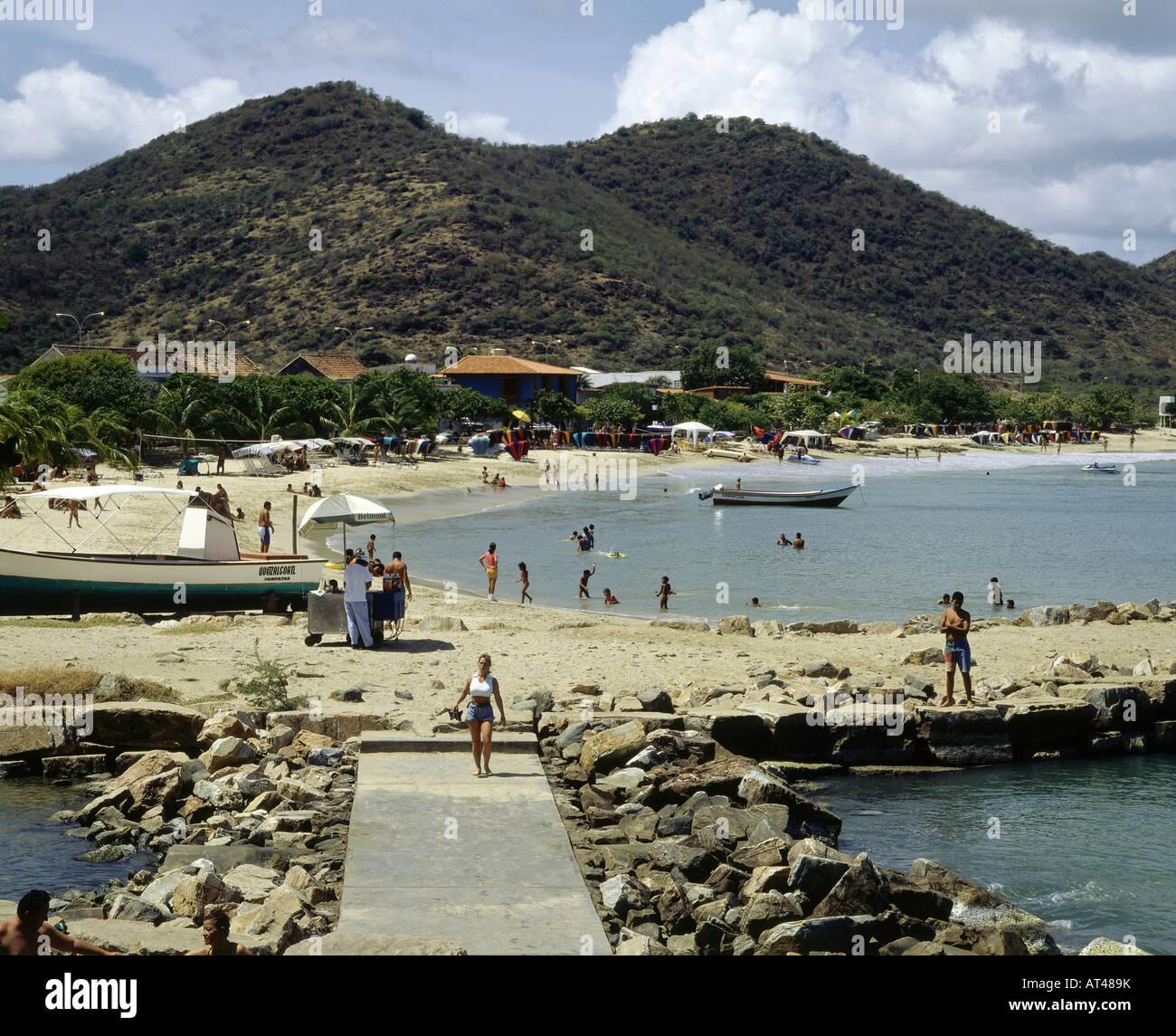Berühmt geography / travel, Venezuela, Isla de Margarita, playa Pedro #EE_68