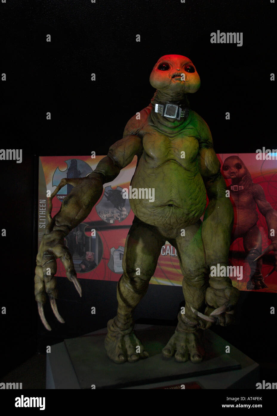 Slitheen Dr Doctor Who enemy - Stock Image