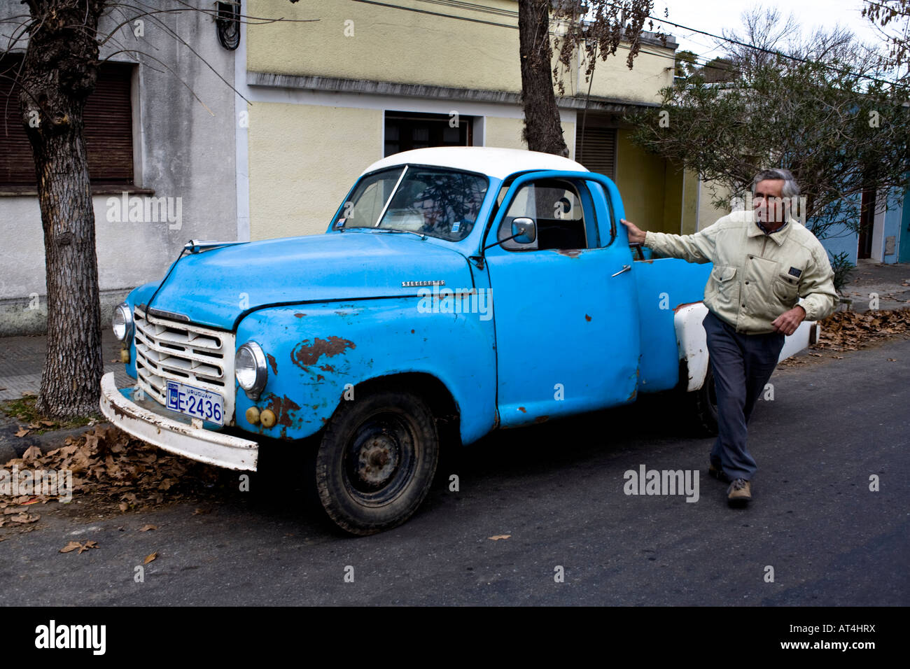 Ricardo Bossio a farmer with his 1951 Studebaker Old and rare cars ...