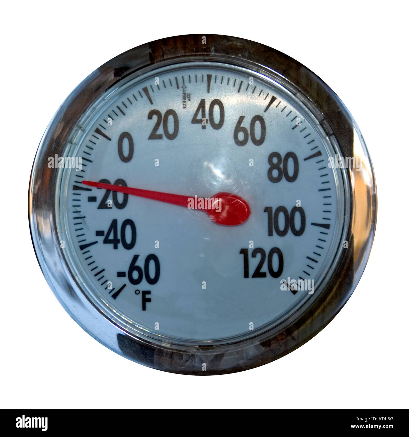 19 degrees farenheit to celcius