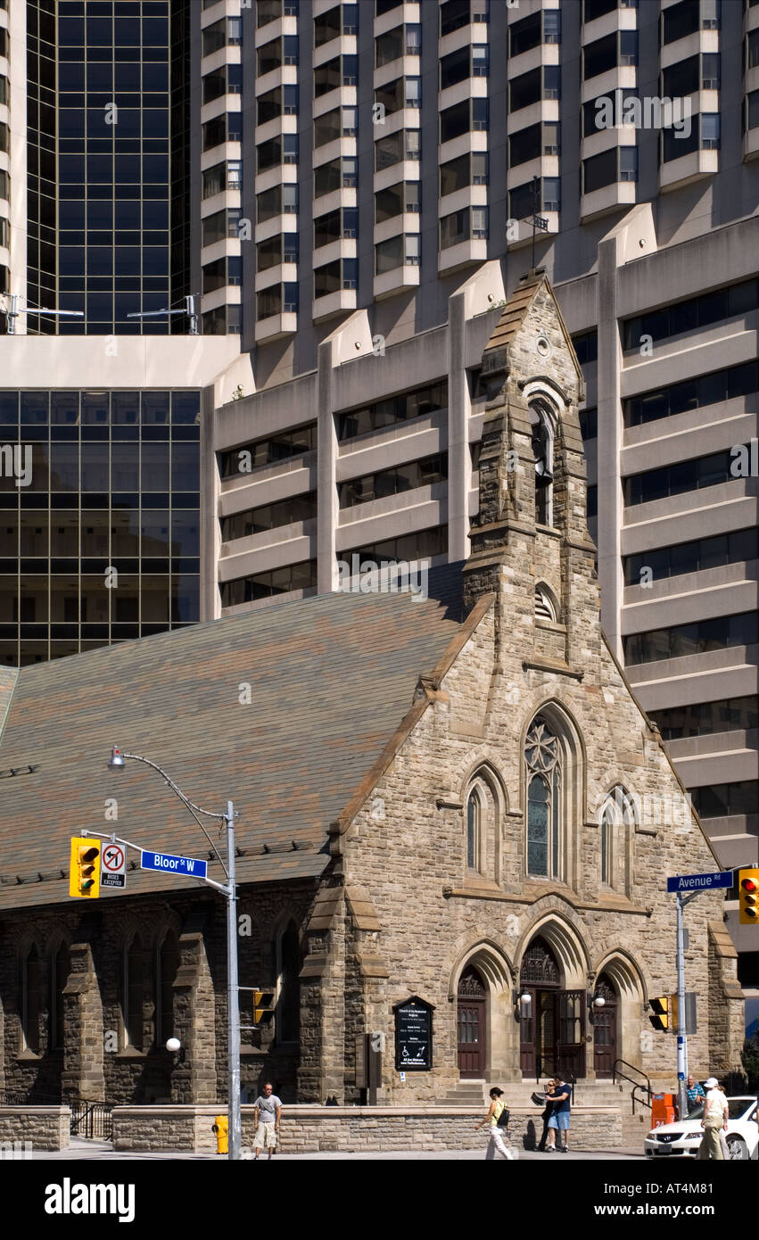 Churh of the Redeemer Anglican Bloor st West Toronto Canada - Stock Image