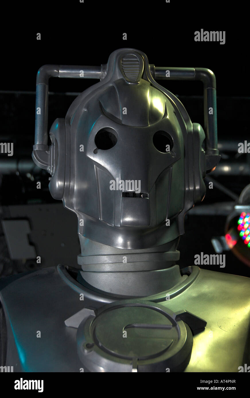 Cyberman at the Dr Who exhibition at Lands End Cornwall Stock Photo