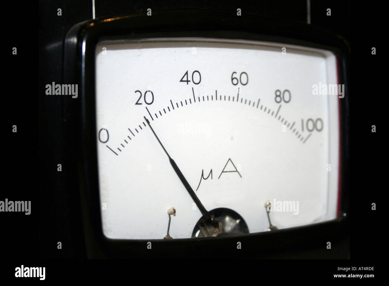 Ammeter And Circuit Stock Photos Images Amp Meter Vintage Instrument Image