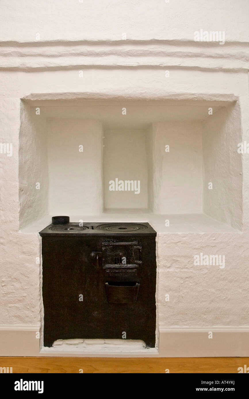 Small build in kitchen range - Stock Image