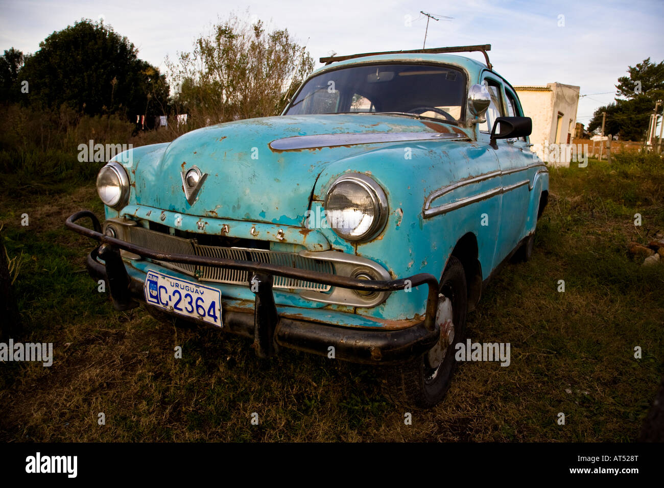 in the streets of Colonia Uruguay Old and rare cars are abundant in ...