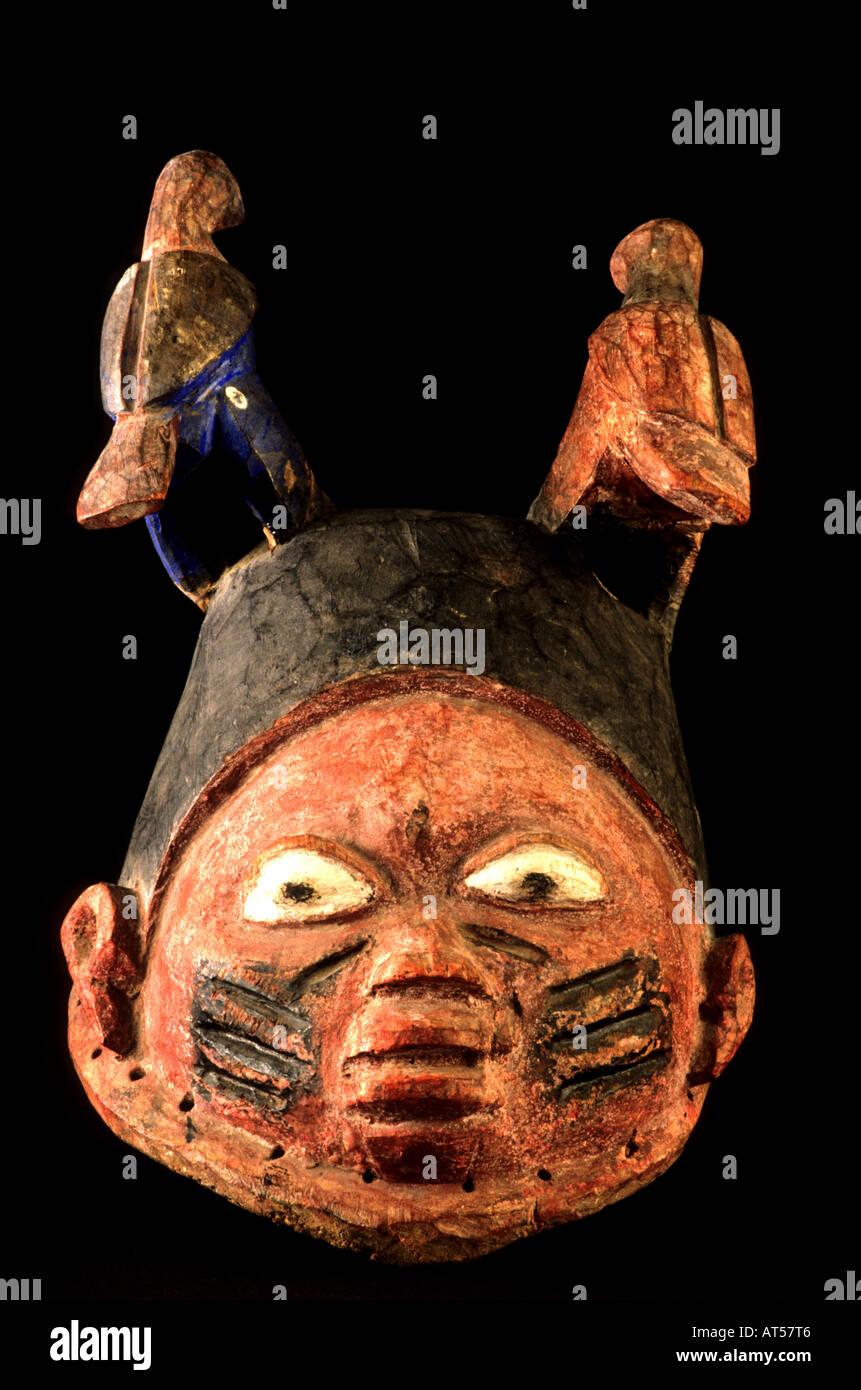 African Africa Cultures Yoruba Mask Stock Photo: 9260741 - Alamy