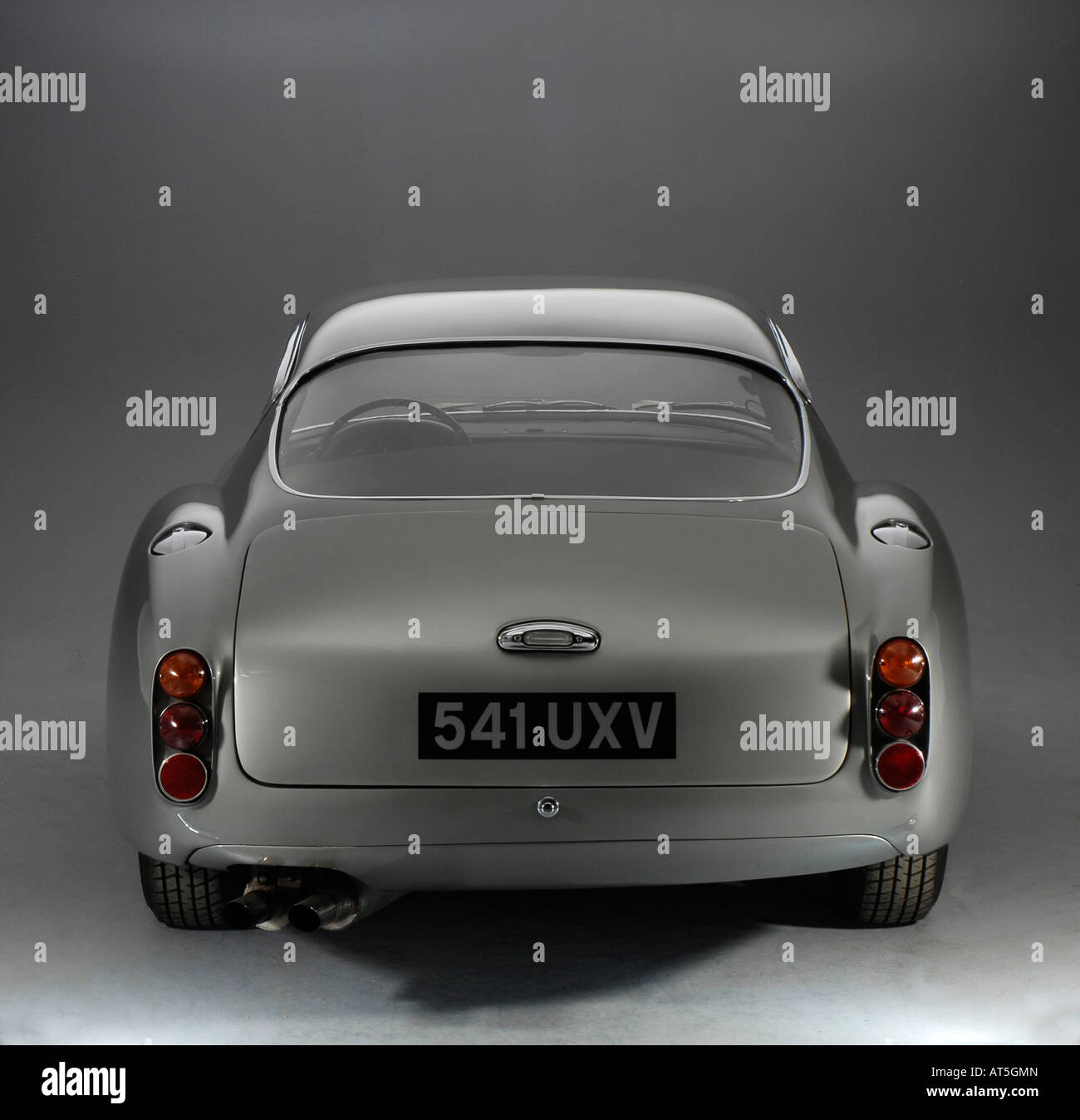 1961 Aston Martin DB4 GT Zagato Rear View Stock Photo