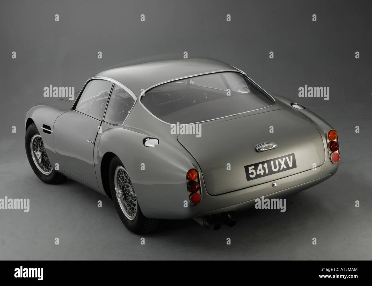 1961 Aston Martin Db4 Gt Zagato Rear Three Quarter View Stock Photo Alamy