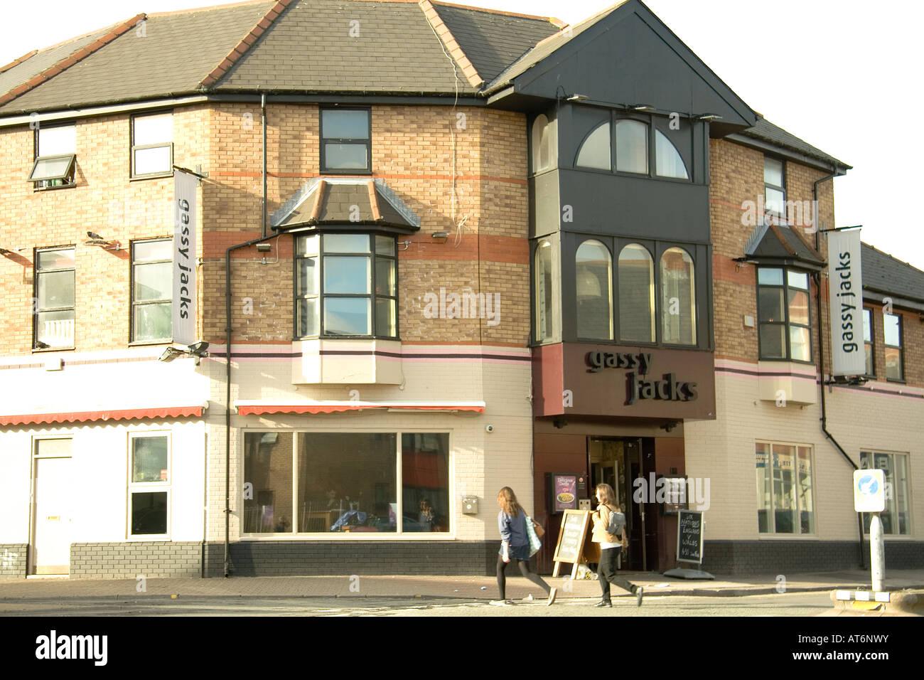 Gassy Jack's pub Cardiff - Stock Image