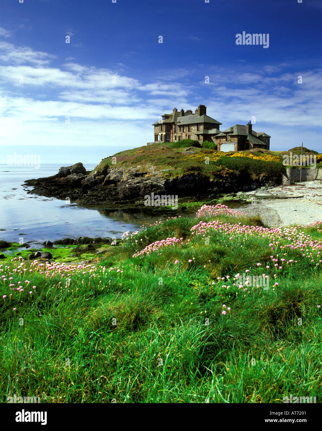 House / Hotel, Anglesey North Wales UK - Stock Image
