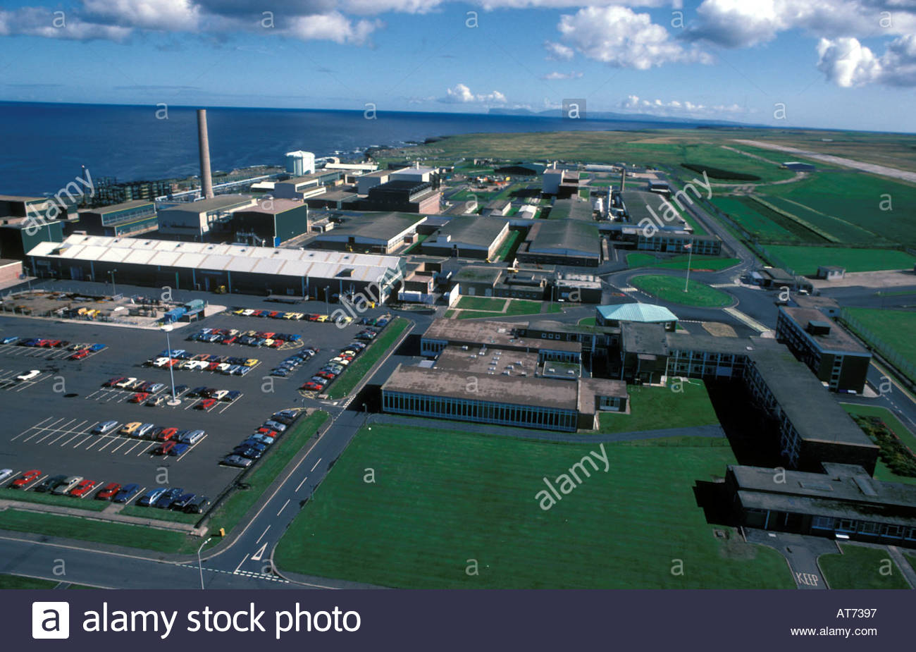 Dounreay nuclear power plant Northern Scotland - Stock Image
