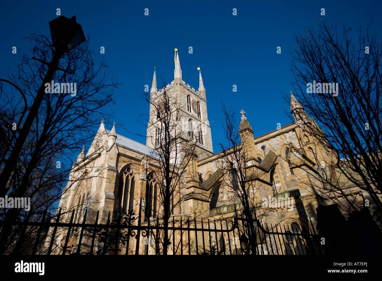 Southwark Cathedral, Southwark, London UK - Stock Image