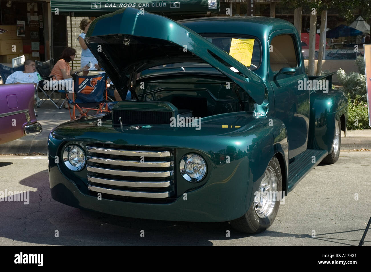 Los Angeles California Car Show Antique Customized Ford - California car shows