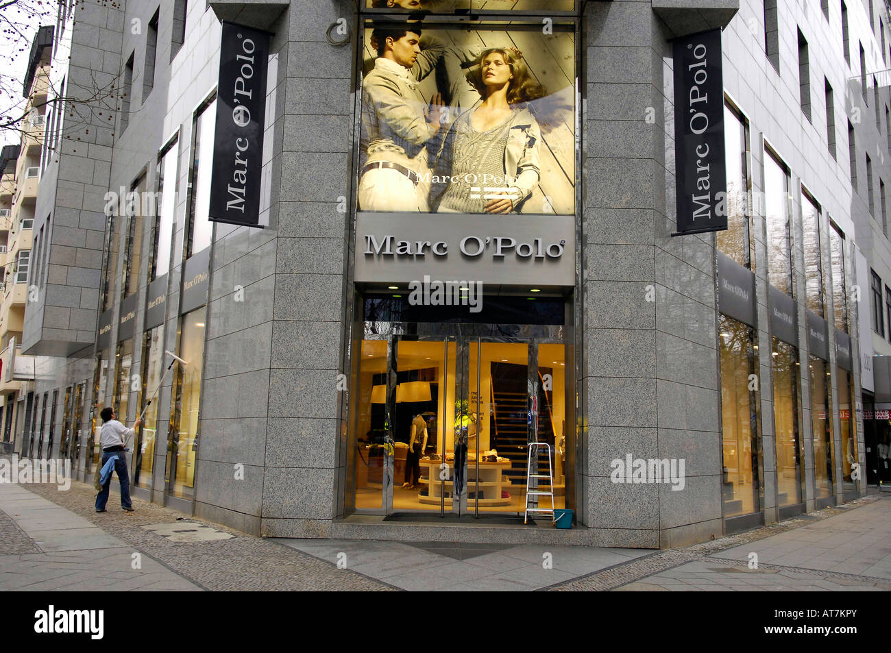pretty nice d1c94 bec97 Marco Polo Store Berlin Ku Damm Stock Photos & Marco Polo ...