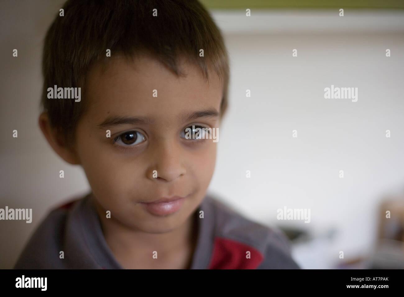 pimpandhost boys Enigmatic boy - Stock Image