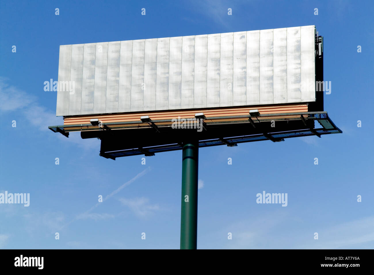 Billboard horizontal - Stock Image