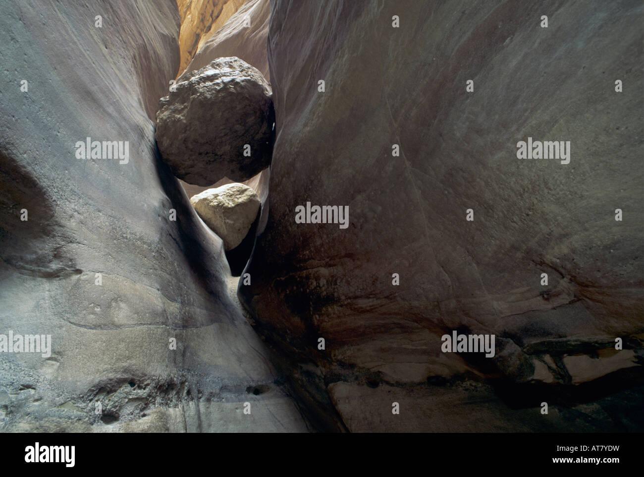 Coloured Canyon Nuweiba Red Sea Egypt Oktober 1997 - Stock Image