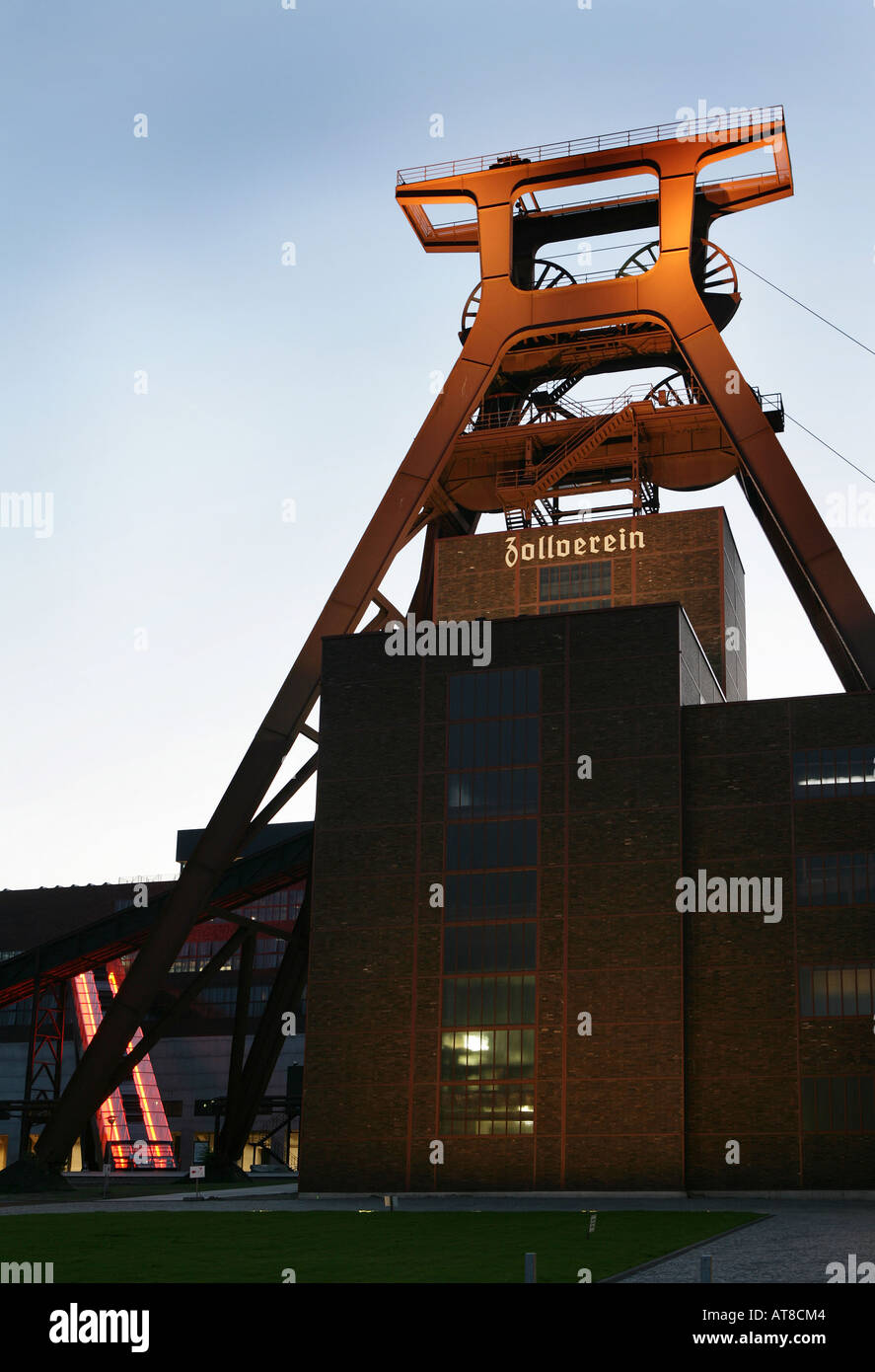 DEU, Germany, Essen : Unesco World heritage site, former coal mine, Zeche Zollverein. Stock Photo