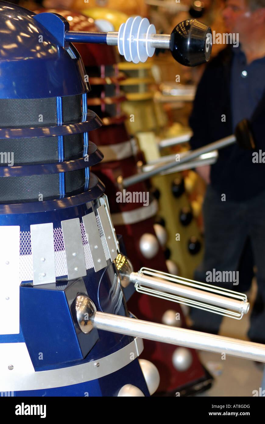 Dalek at toy fair - Stock Image