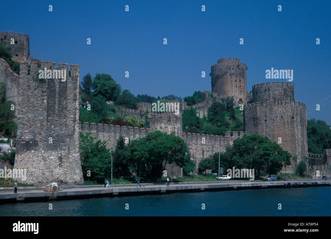 Rumeli castle Istanbul Turkey Stock Photo