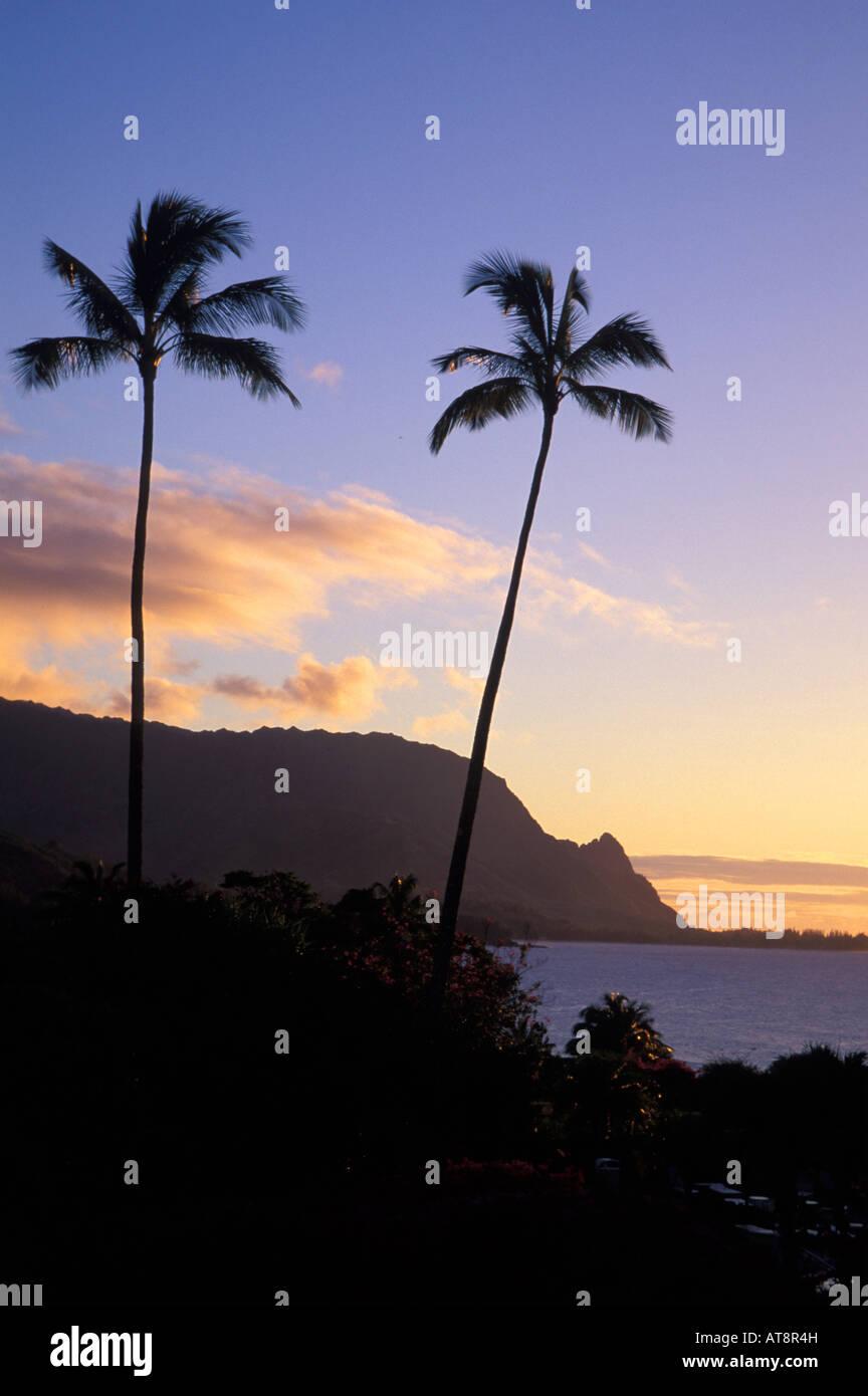 Where Is Bali Hai Island sunset at makahoa point, known as bali hai, north shore on