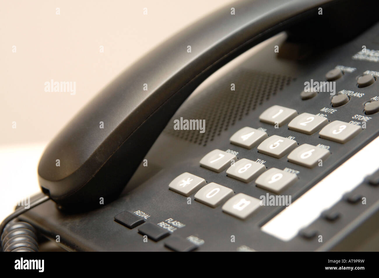 Office telephone - Stock Image