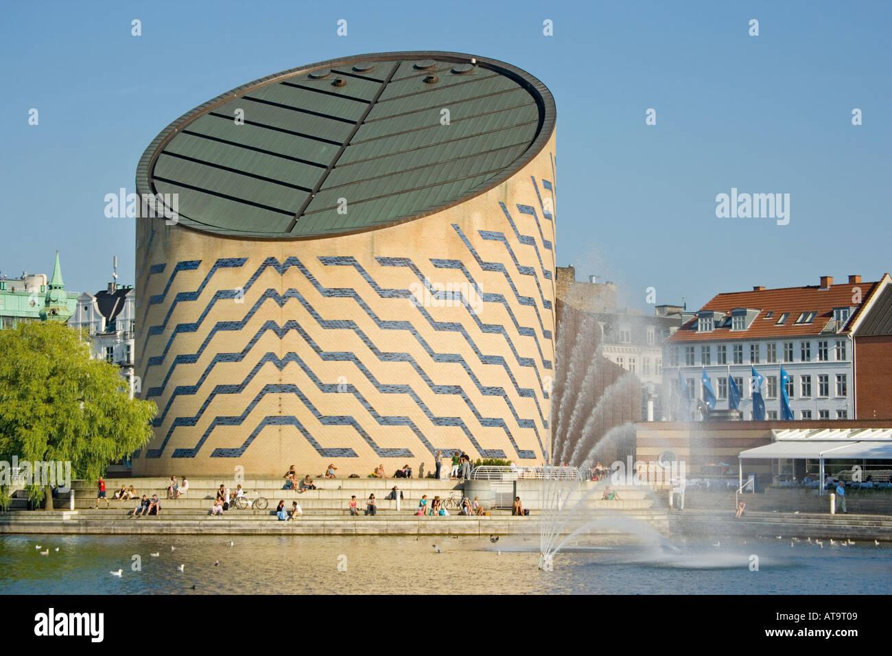 Copenhagen Denmark Tycho Brahe Planetarium on Sankt Jorgens So - Stock Image