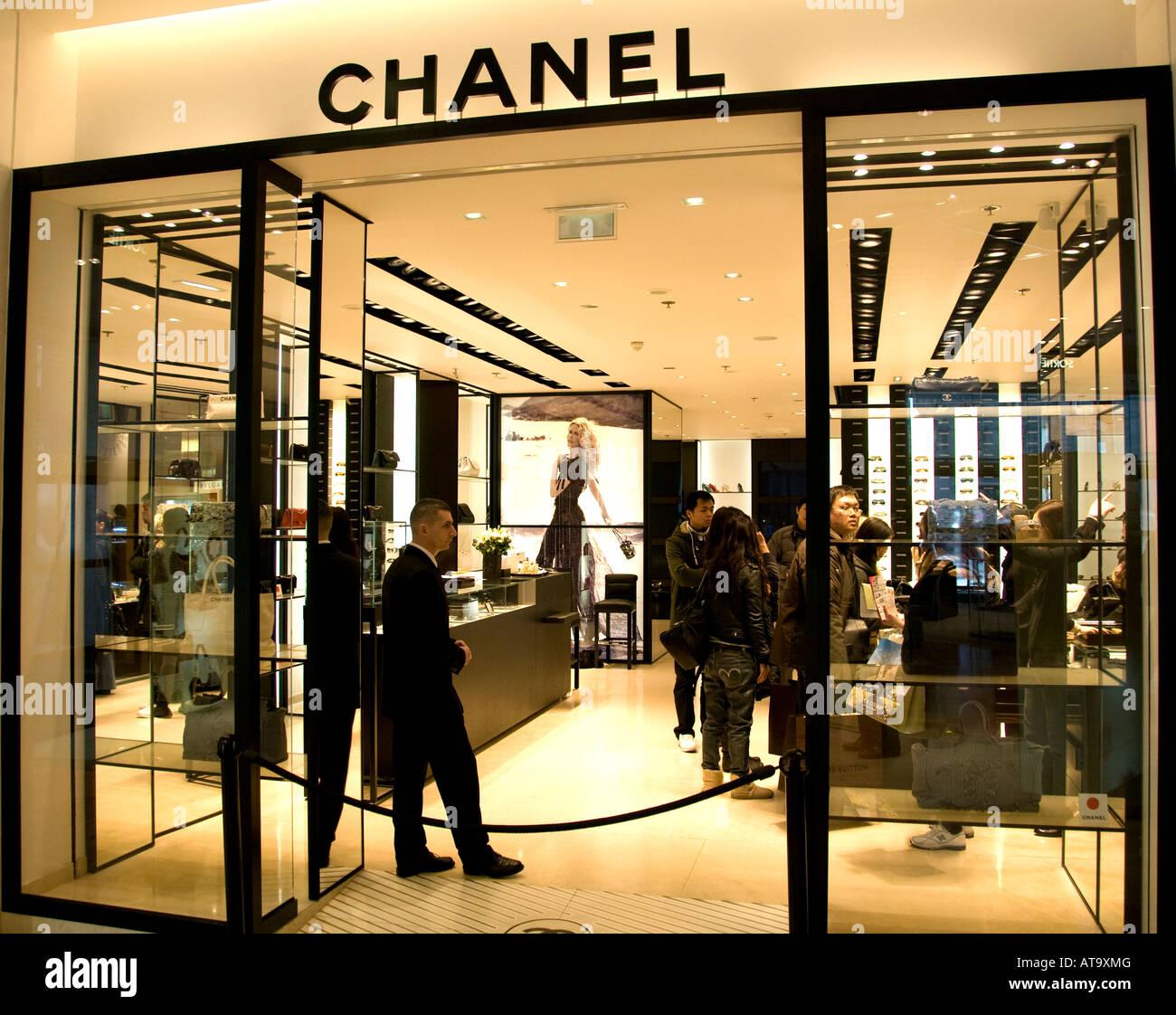 Galeries Lafayette Paris Chanel Couturier Fashion Coco Chanel Stock